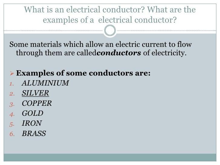 Conductors and Insulators-quiz