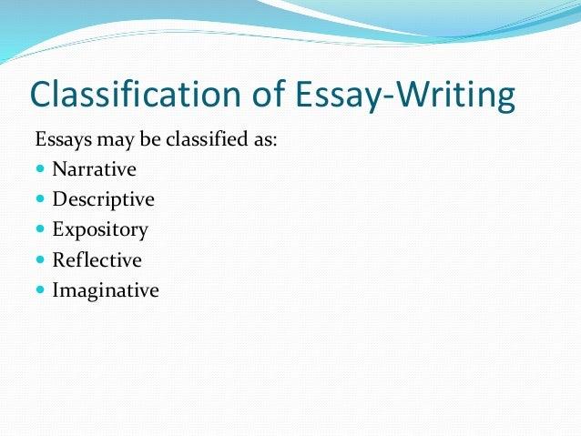 imaginative writing essays