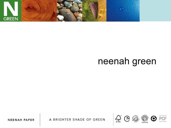 neenah green