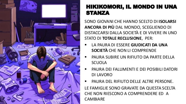 @FelicettoMassa HIKIKOMORI, IL MONDO IN UNA STANZA SONO GIOVANI CHE HANNO SCELTO DI ISOLARSI ANCORA DI PIÙ DAL MONDO, SCEG...