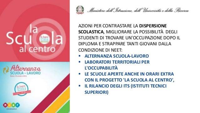 @FelicettoMassa AZIONI PER CONTRASTARE LA DISPERSIONE SCOLASTICA, MIGLIORARE LA POSSIBILITÀ DEGLI STUDENTI DI TROVARE UN'O...
