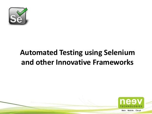 Cvs Std Test >> Neev Independent Testing Services