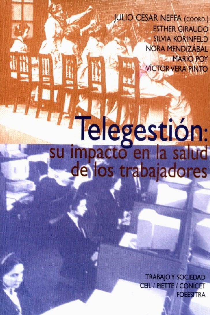 CONDICIONES Y MEDIO AMBIENTE DE TRABAJO (CyMAT)                               Y                   SALUD DE LOS RABAJADORES...