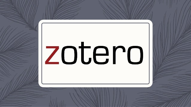 NEFLIN: Organizing Your Data: Zotero, Evernote and other tools to Organize Research Slide 2