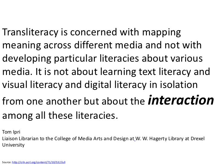 Transforming Information Literacy For Todays K 12 Learners
