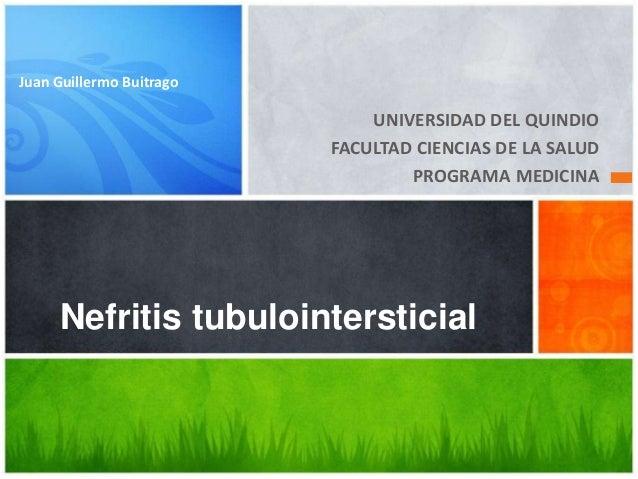 Juan Guillermo Buitrago                              UNIVERSIDAD DEL QUINDIO                          FACULTAD CIENCIAS DE...