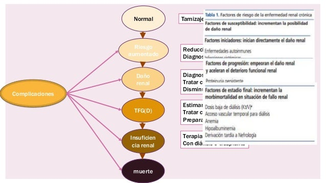 Enfermedad renal cronica y enfermedades asociadas