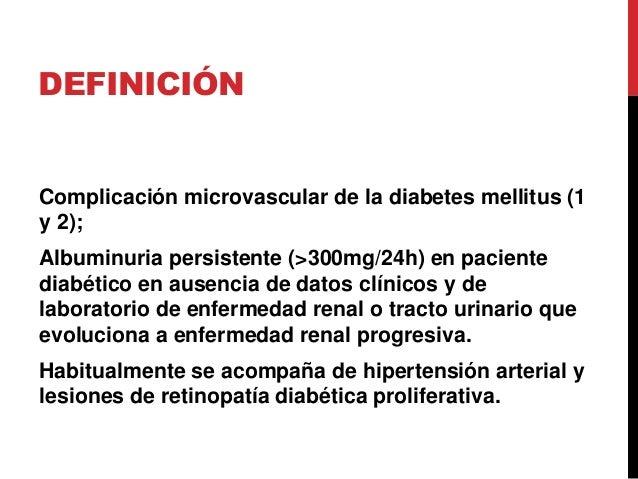 Nefropatía diabética  Slide 2