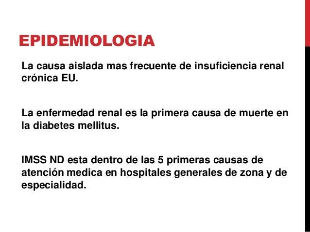 Nefropatía diabética  Slide 3