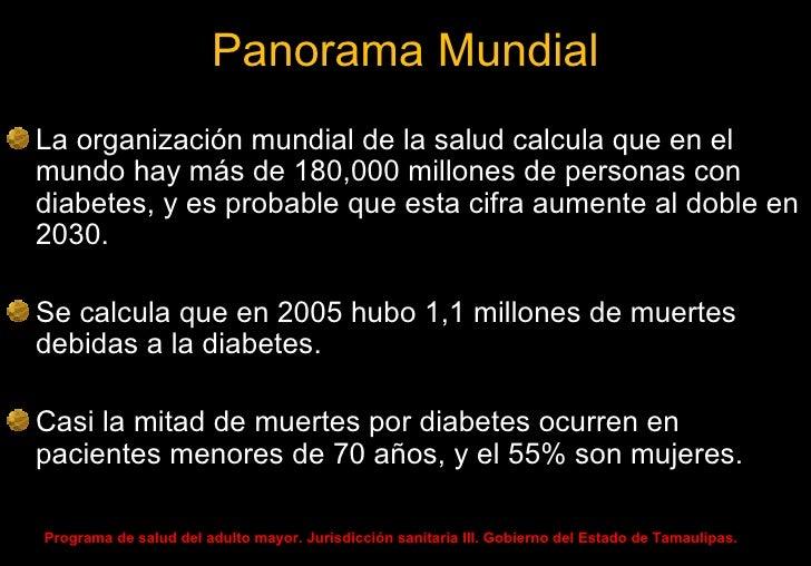 Nefropatía diabética mexico 2010 Slide 3
