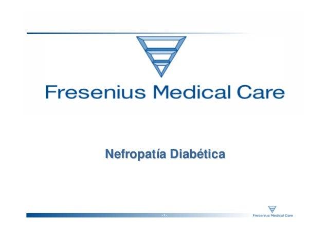 Nefropatía Diabética         -1-
