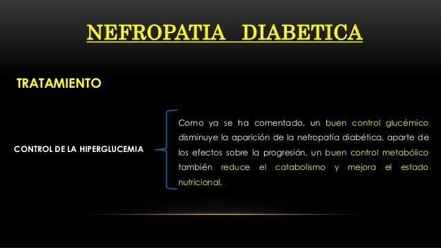 casos de nefropatía diabetes ada
