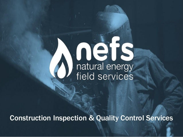 Construction Inspection & Quality Control Services