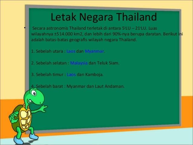 Gambar Negara Thailand Adalah Mengenal Negara Thailand