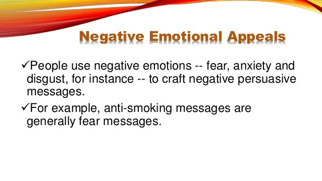 Informative positive negative and persuasive messages