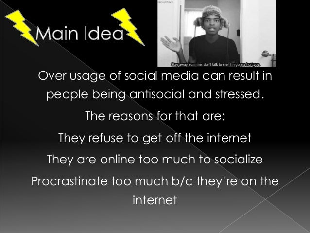 the negative usage and consequences of social media The use of social media among students has reached high levels and has  affected their study  that social platforms have negative impact on students.
