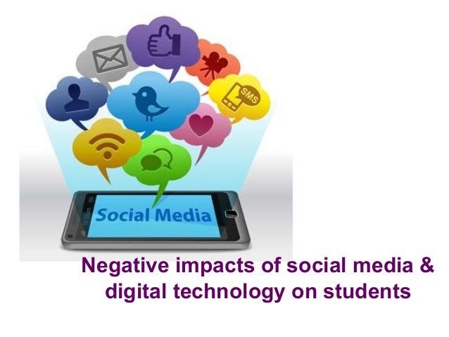 negative impacts of internet The homenettoo project is a longitudinal study of home internet use and its effects on children more logins were associated with more negative affect.