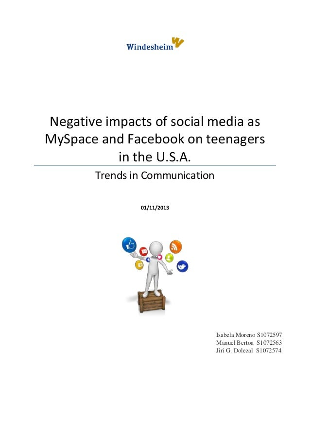 Impacts on social media