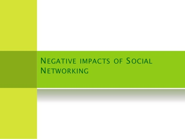 social networking and its impacts on Student scholarship 9-3-2015 the impact of social media on society jacob  amedie santa clara university follow this and additional works at:.