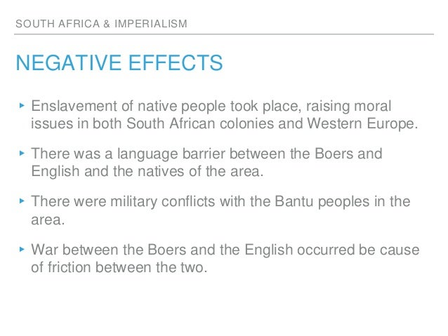 Negative and positive effect