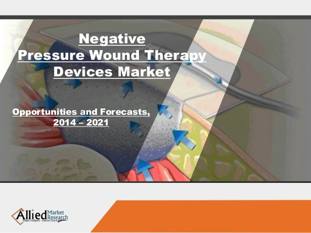 Negative Pressure Wound Therapy Devices Market Opportunities and Forecasts, 2014 – 2021