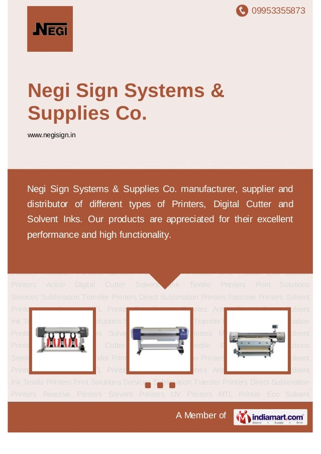09953355873A Member ofNegi Sign Systems &Supplies Co.www.negisign.inSublimation Transfer Printers Direct Sublimation Print...