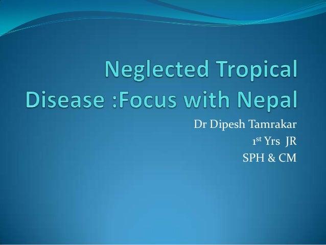 Dr Dipesh Tamrakar 1st Yrs JR SPH & CM