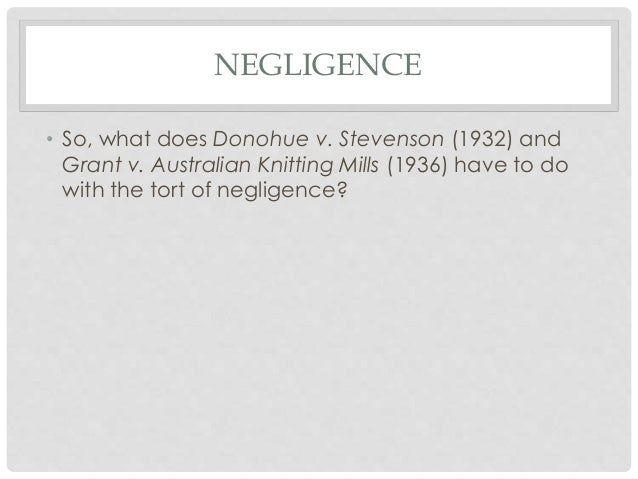 grant v australian knitting mills 1936