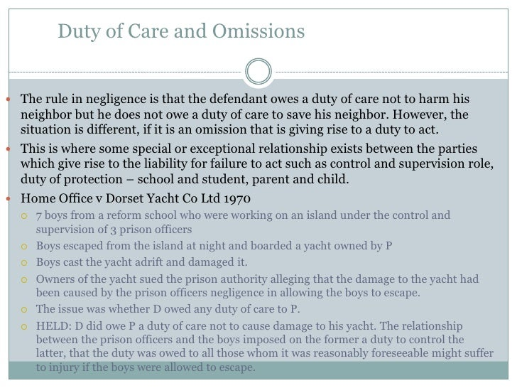 essay duty care negligence This free law essay on essay: establishing a negligence claim is perfect for law students to use as an example this free law essay on essay: establishing a negligence claim is perfect for law students to use as an example the claimant must show that the defendant owed them a duty of care.