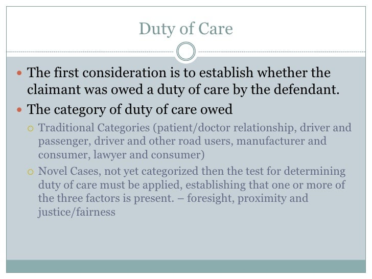 introduction to duty of care essay 11 duty of care is your responsibilities and legal obligations of an individual or organisation we must adhere to a standard of reasonable care in our work role 12 the duty of care affects my work role as it is a requirement that i am aware of the policies and procedures in place within my department and in the trust as a whole.