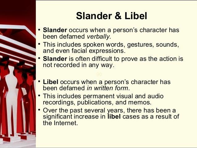 Celebrity libel and slander cases plaintiff
