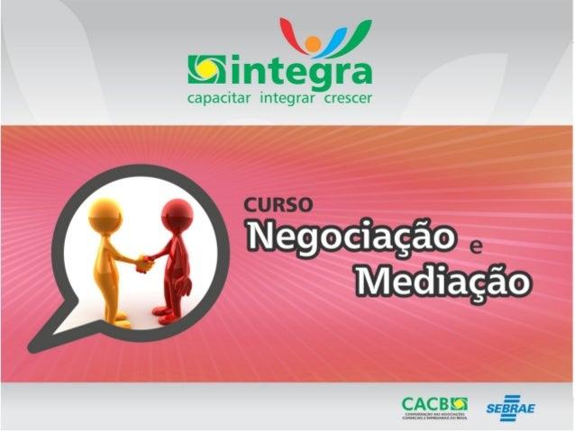 SUMÁRIO 1) Introdução 2) Conceitos de negociação 3) Concessão em negociação 4) Estilos de Negociação 5) Entraves e Estraté...