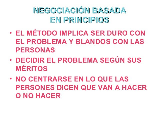 CRITERIOS DE NEGOCIACIÓN       toda negociación debe juzgarse           en base a tres criterios: Conducir a un acuerdo se...