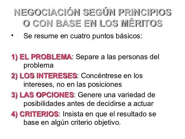 SIETE ELEMENTOS DE UNA        BUENA NEGOCIACIÓN•   1) INTERESES•   2) OPCIONES•   3) ALTERNATIVAS•   4) LEGITIMIDAD•   5) ...