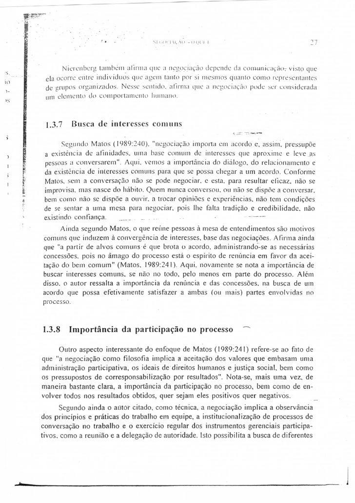 Negociação texto a008