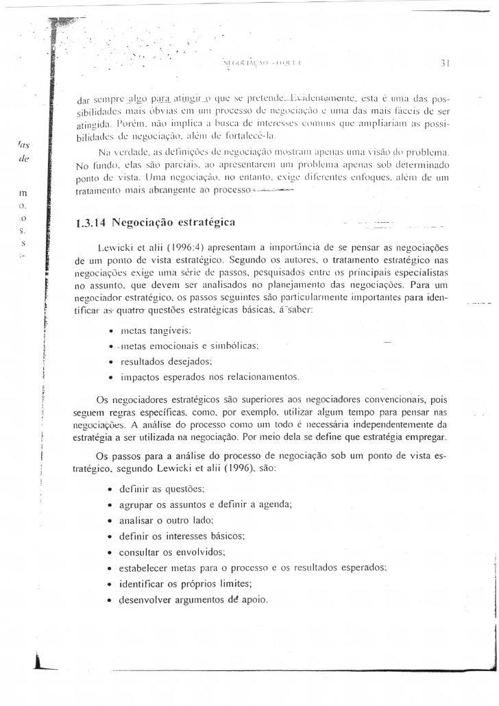 Negociação texto a012