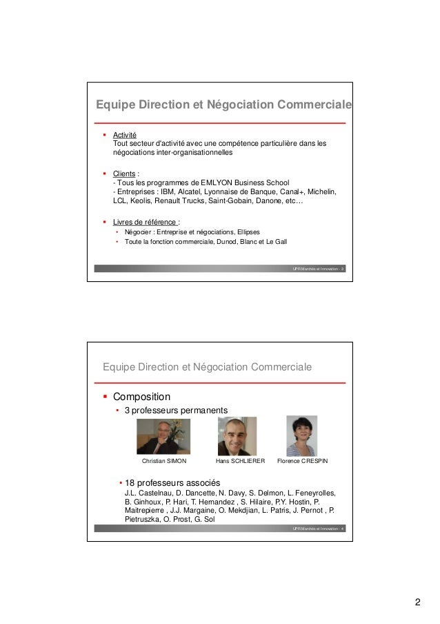 negociation vente