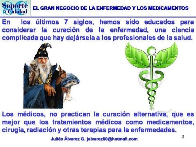El Gran negocio de la enfermedad y los medicamentos4 Slide 2