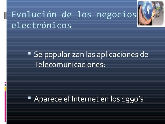 Negocios electronicos Slide 3