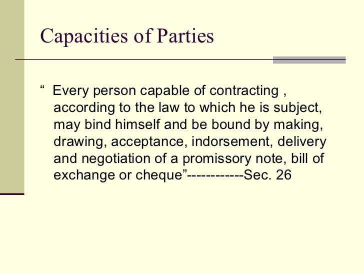 Discharge of liabilities under negotiable instrument act 1881