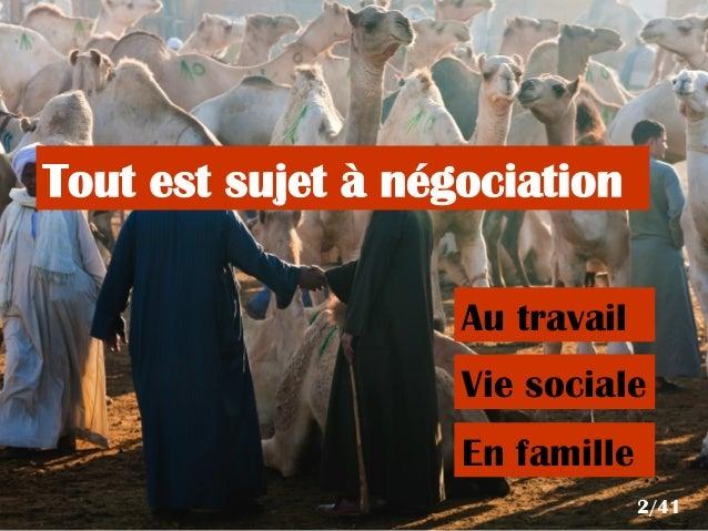 Negotiate is not innate Slide 2