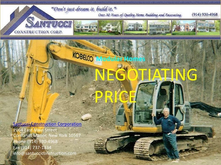 Negotiating Price With New Home Builders