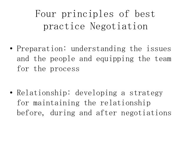 negotiation preparation When negotiating and drafting complex leasing agreements, it's imperative you  know what these provisions can mean, have alternate.
