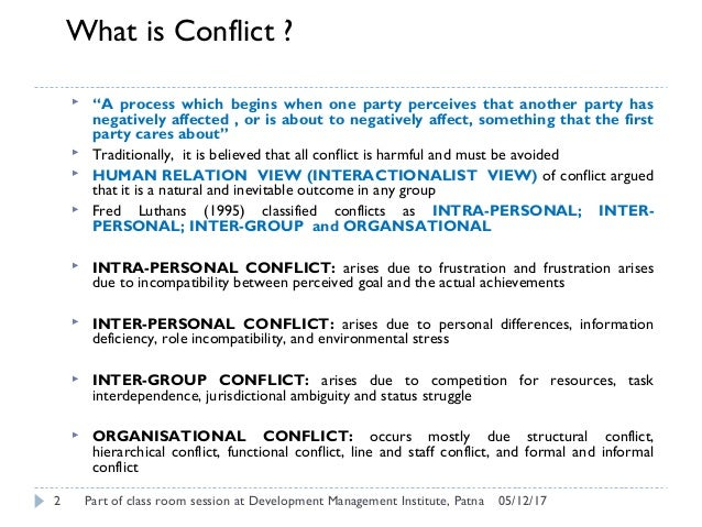 Case Study About Conflict Management - Case Solution ...