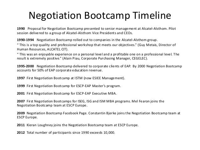 personal experience in negotiation Using a personal or work-related example, discuss the last time you experienced an impasse in a negotiation what type of impasse occurred what were the methods you used to resolve the.