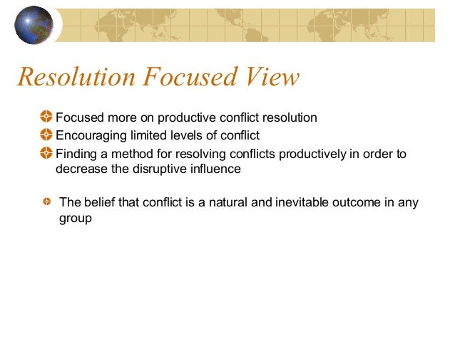 resolving conflict through negotiation Conflict and alternative dispute resolution conflict styles and negotiation  and managing conflict the ability to manage conflict actively through reduction,.