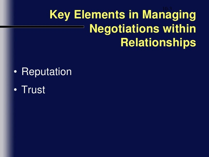 relationships negotiations in business Negotiation has come a long way a once purely adversarial, one-time event has evolved into a relationship-based, ongoing process that puts a premium on empathy and co-operation this author, an expert educator who has played a critical role in improving negotiators' skills and the results they .