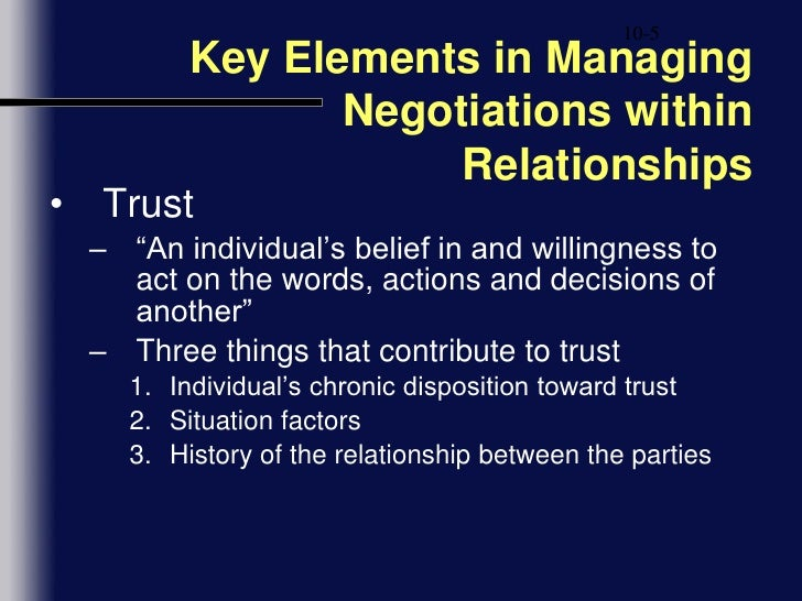 situational influences on negotiations Start studying module 7 ch11 - conflict and negotiation in the workplace learn vocabulary, terms, and more with flashcards, games, and other study tools search -situational influences on negotiations four important situational factors.