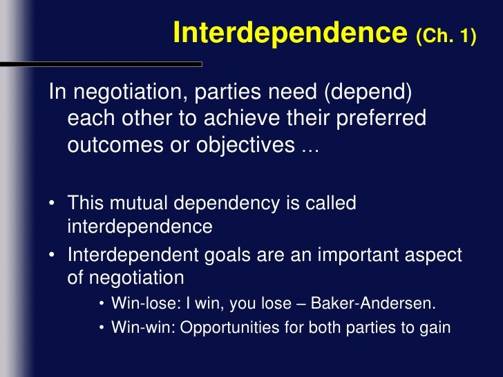 chapter 3 integrative negotiation Essentials of negotiation  chapter 3 strategy and tactics of integrative negotiation 62 introduction 62 what makes integrative negotiation different 62.