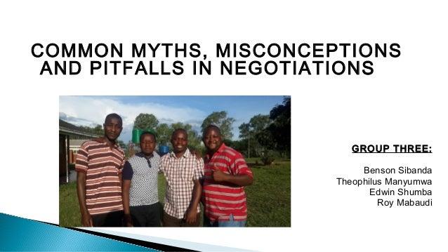 Negotiation myths myth